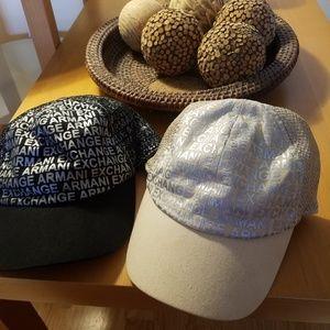 Armani Exchange cap. Choose one